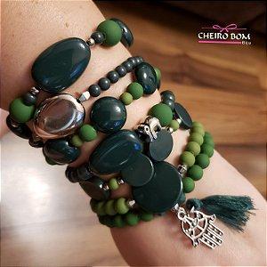 Mix Pulseiras 7 pulseiras