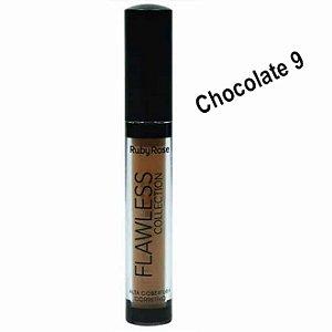 Corretivo Liquido Alta Cobertura Chocolate 9 – Ruby Rose