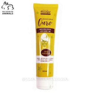 Máscara Facial Ouro 18k - Face Beautiful