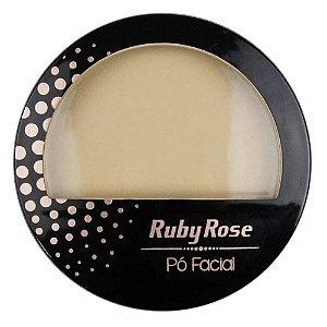 Pó Facial Bege Médio HB-7212 Cor PC03 - Ruby rose
