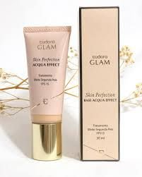 Base Eudora Glam Acqua Effect Fps15, 30ml bege medio 2