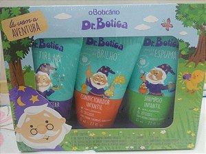 kit. infantil dr botica, o boticário ( shampoo, condicionador e creme de pentear)