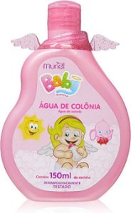 Água de Colônia Baby Menina 150ml, Muriel