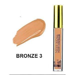 Corretivo Liquido Miss Rôse Bronze 3