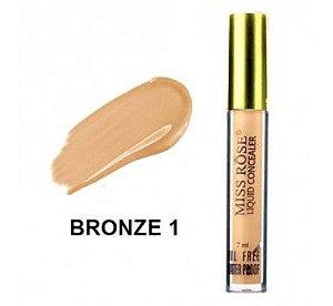 Corretivo Liquido Miss Rôse Bronze 1