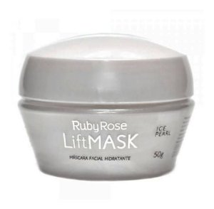 Máscara Facial Ruby Rose Lift Mask Hidratante Ice Pearl