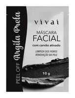 Máscara Facial de Argila Preta - Vivai