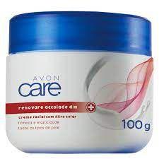 Creme Facial Dia com Filtro Solar Renovare Accolade Avon Care - 100g