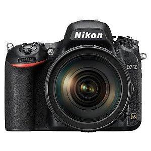 Câmera Nikon D750 Kit AF-S 24-120mm f/4G ED VR