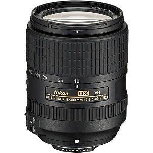 LENTE NIKON AF-S 18-300mm f/3.5-5.6 G ED VR DX