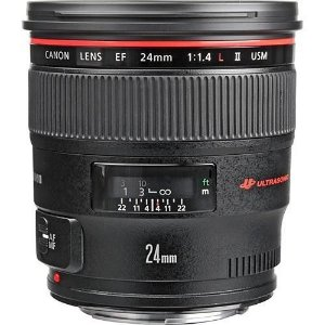 LENTE CANON EF 24mm f/1.4 L II USM
