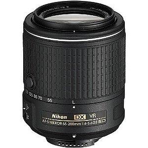 LENTE NIKON AF-S 55-200mm f/4-5.6G ED IF VR DX