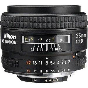 LENTE NIKON AF 35mm f/2D