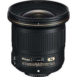 LENTE NIKON AF-S 20mm f/1.8G ED