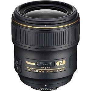 LENTE NIKON AF-S 35mm f1.4G