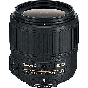 LENTE NIKON AF-S 35mm f/1.8G ED FX