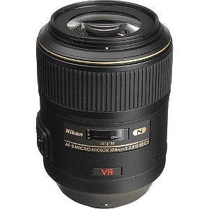 LENTE NIKON AF-S 105mm f/2.8G ED IF VR Macro