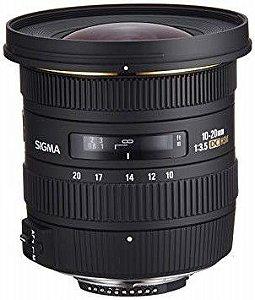 Lente Sigma 10-20mm F/3.5 Ex Dc Hsm