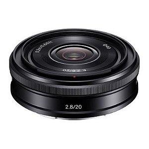 Lente Sony E 20mm f/2.8