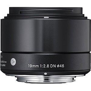 Lente Sigma 19mm F/2.8 DN Para Sony
