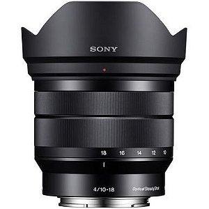 Lente Sony E 10-18mm f4 OSS