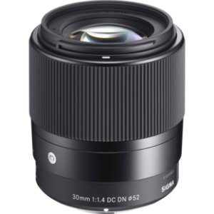 Lente Sigma Contemporary 30mm f/1.4 DN para Sony