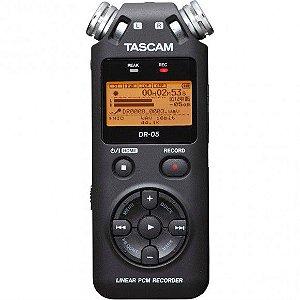 Gravador de Áudio Portátil Tascam DR-05