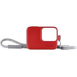 Capa Protetora GoPro com Cordão  Vermelho
