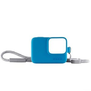 Capa Protetora GoPro com Cordão Azul