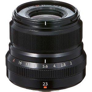 Lente FUJIFILM XF 23mm f/2 R WR