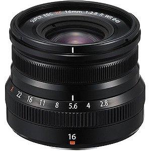Lente FUJIFILM XF 16mm f/2.8 R WR
