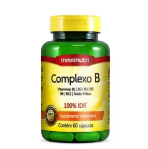 COMPLEXO B 60 Cáp 500 mg