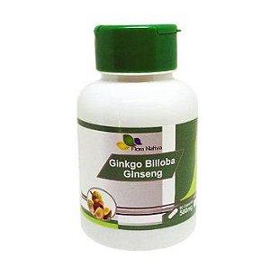 GINKGO BILOBA COM GINSENG 90 Cáp 500 mg