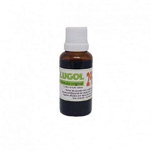 Lugol 2% - Iodo Inorgânico - 30 ml