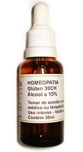Homeopatia de Glúten - 30 ch com 30 ml