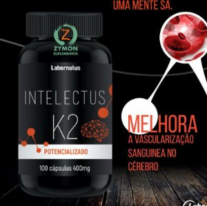 K2  Vitamina (Intelectus) - 100 Cáp -  400 mg