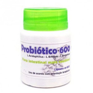 Probiótico 600 - 120 Cáp