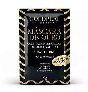 Máscara Facial Com Nanopartículas De Ouro - sache 8g