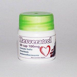 Resveratrol - 60 Cáp 100 mg