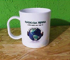 Caneca Plástico II - Rádio da Terra