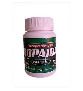 Extrato Seco de Copaiba - 60 Cáp - 500 mg