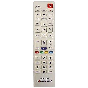 Controle remoto para Azamerica S1008 Hd /s1009 Plus  - 7081