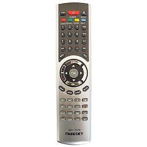 Controle Remoto Freesky Freeduo HD,  HD+