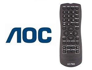 Controle Remoto Tv Lcd AOC  L32w831 - L42h831 - L19w931