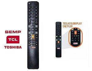 Controle Remoto Tv Led TCL - Semp Toshiba Com botão NetFlix