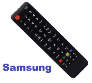 Controle Remoto TV LCD / LED Samsung BN98-04345A - Com tecla Futebol