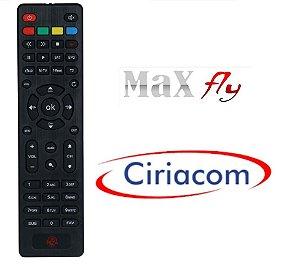 Controle Remoto para  Receptor MaxFly Iflex IKS/ SKS/ VOD/ IPTV/ WIFI