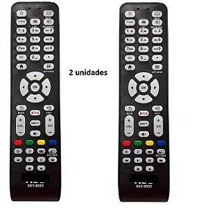 Controle Remoto Aoc Serve Todos Modelos Tv Led Lcd kit 2 unidades