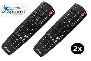 Controle Remoto Audisat K10 Urus / Kti com 2 Unidades