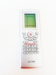 Controle Remoto Ar Condicionado Gree Trane YT1F /  YT1FF / YT1F1 /GWCN09JAND1A1A / GWCN12JBND1A1A